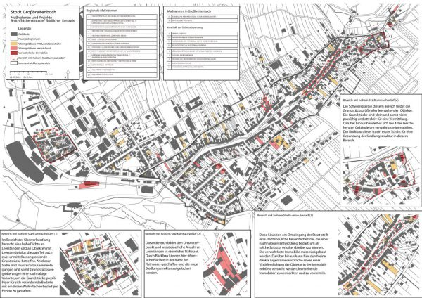 Maßnahmenkarte Großbreitenbach