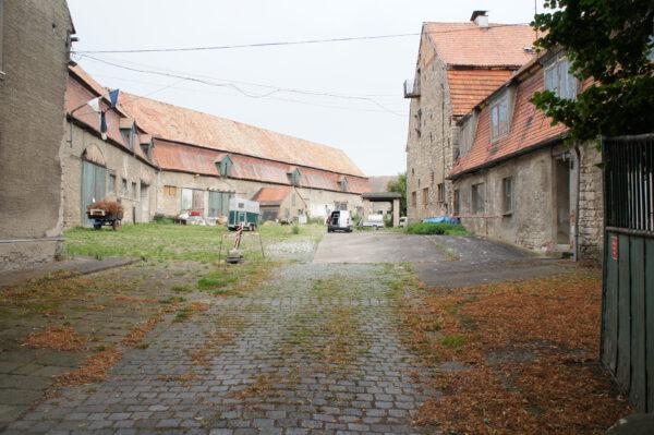 Denkmalgeschütztes Rittergut, Leerstand
