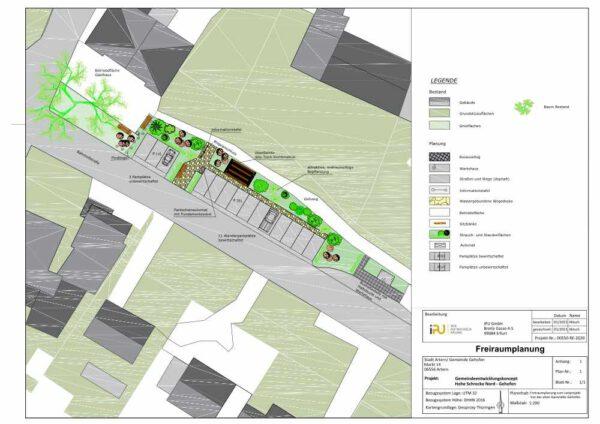 Teilbereichsplanung Wanderparkplatz Gehofen