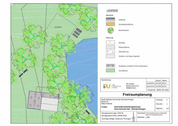 Teilbereichsplanung Altenbeichlingen