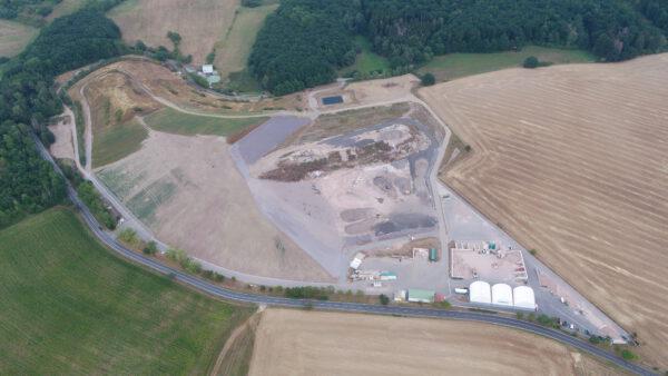 Luftbild Deponie Leimrieth
